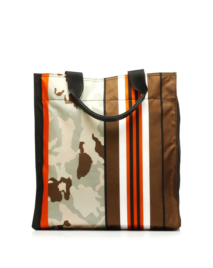 Rectangular shopping bag made of 100% nylon printed on both sides by #Givenchy