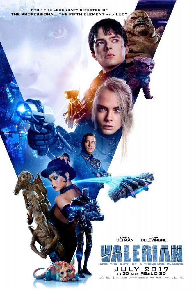 Starring Clive Owen, Ethan Hawke, Dane DeHaan, Cara Delevingne, Rihanna   Sci-fi   A Luc Besson film