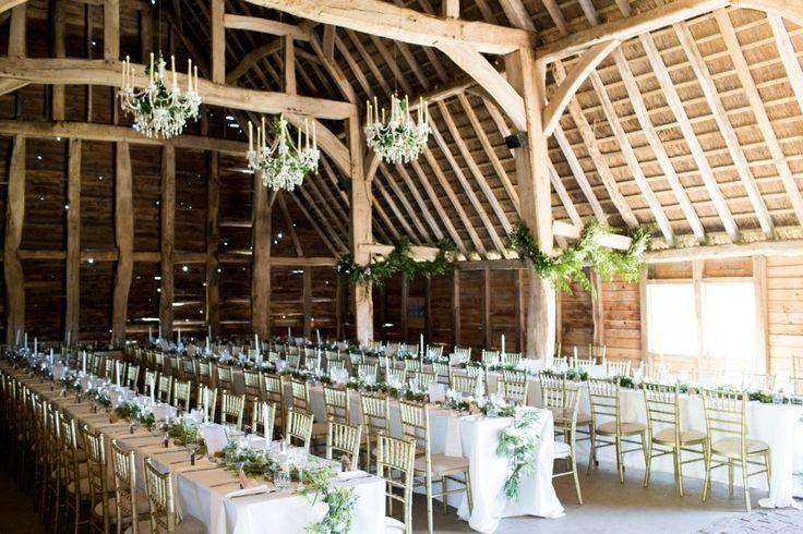 Beautiful Barn wedding- The Black Barn at Rushall Manor Farm