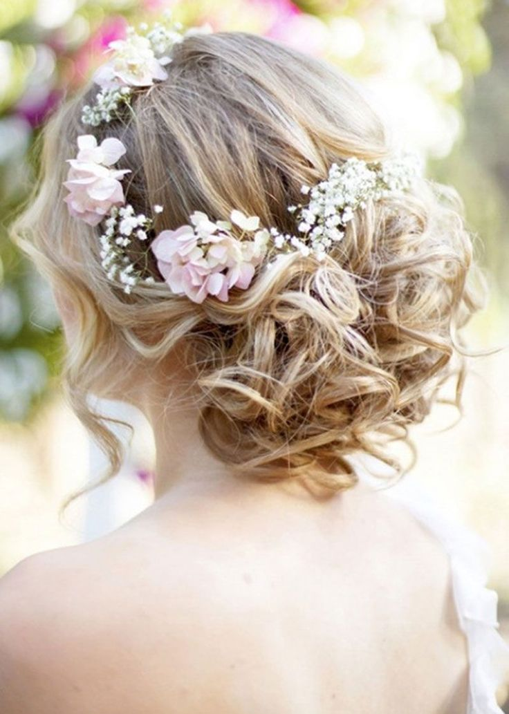 Cheap Short Beach Wedding Dresses : Beach Wedding Updo Hairstyles with Jewel Appliques