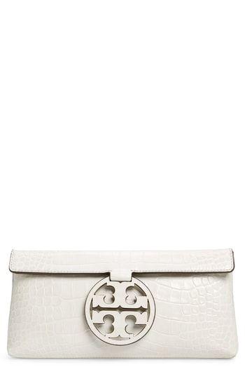 9f0f672e7ef New Tory Burch Miller Embossed Clutch. Women s Fashion Handbags    298 allfashiondress
