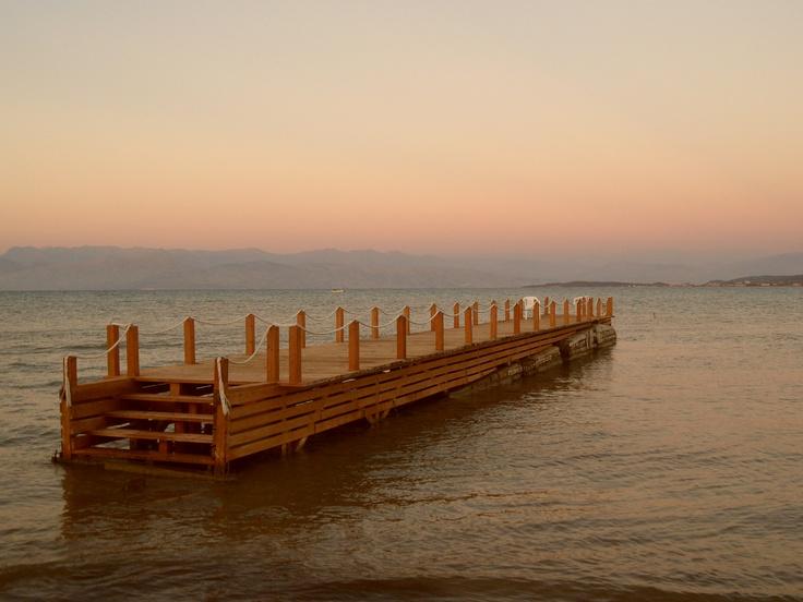 Sunset in Roda, Corfu - October 2012