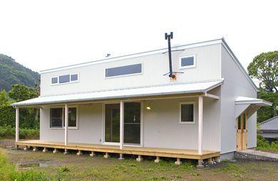 平成民家 縁側のデッキのある家|KITOTETU図鑑|ハウスギア