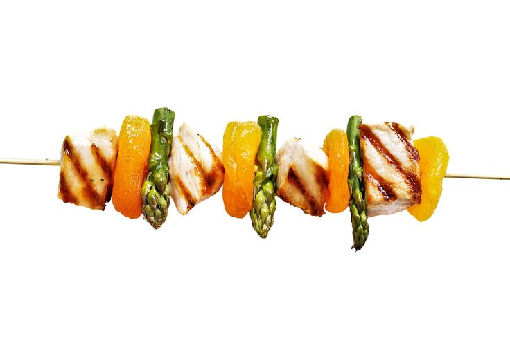 Lift the lid on your barbie to create these colourful apricot chicken kebabs that are perfect for spring entertaining.