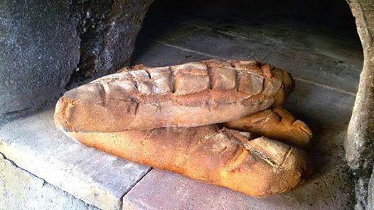 Buongiorno... con il pane dei granicoltori Bio di Agricoltura Bioetica della Sicilia Emoticon smile
