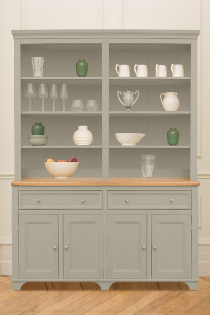 152cm large dresser painted in Hardwicke White by Farrow & Ball