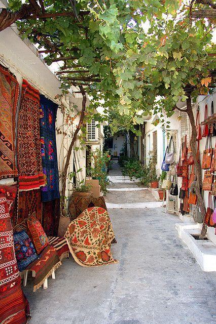 Kritsa village on Mount Pelion  Thessaly, Greece