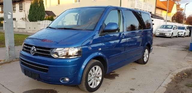 Volkswagen T5 Multivan 2 0 Tdi Life Aus Eb Garantie Blau In 2020 Volkswagen Diesel Fahrzeuge