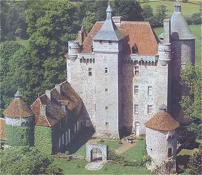 Château de Villemonteix à Chénérailles                                                                                                                                                                                 More