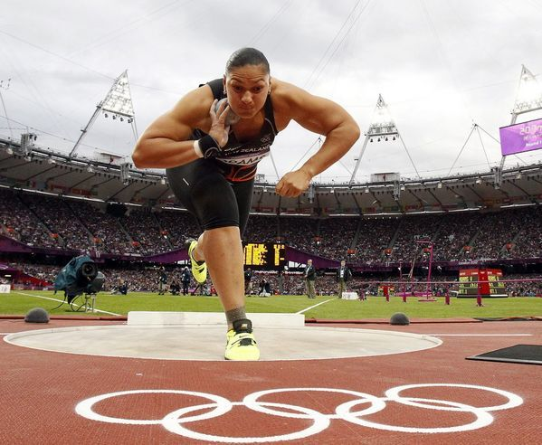 Valerie Adams - Shot Put; Most Significant Sports Accomplishment: Olympic Gold Medalist