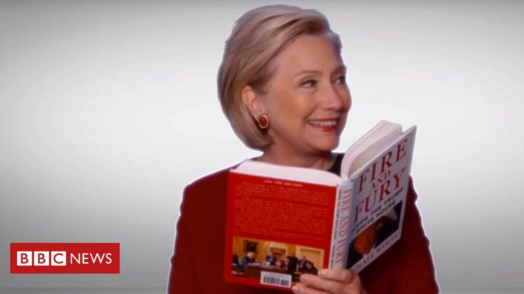 Fire and Fury over Clinton Grammy cameo  ||  Republicans, including Donald Trump Jr, disapprove of a Grammys sketch featuring Hillary Clinton. http://www.bbc.co.uk/news/entertainment-arts-42856065?utm_campaign=crowdfire&utm_content=crowdfire&utm_medium=social&utm_source=pinterest
