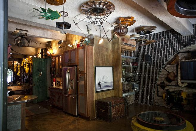 Who *wouldn't* want to live in a steampunk apartment??