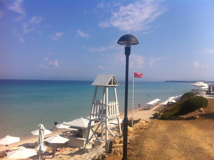 Bousoulas beach at the Sani Beach Hotel