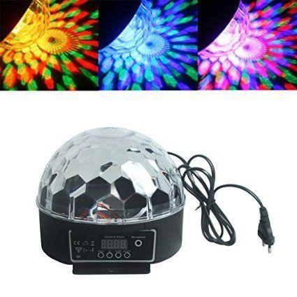 ALED LIGHT® LED Licht Bühnenbeleuchtung Stadiums EffektLicht RGB Projektor Bühne Licht für DJ Disco Ballsaal KTV Stab Stadium Club Party - Kristall Magic Ball