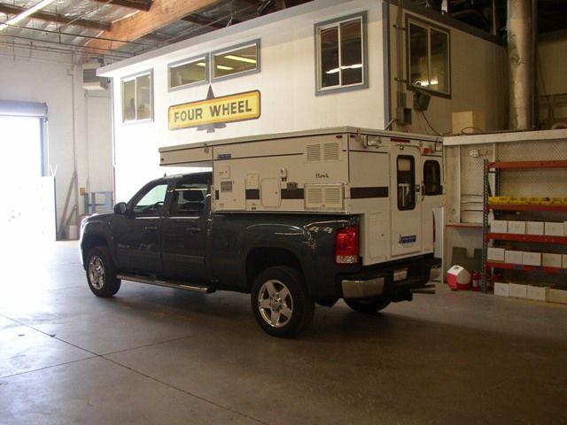 Truck Camper Plans Build Yourself: Hawk Pop-Up (6.5′ Short Bed)