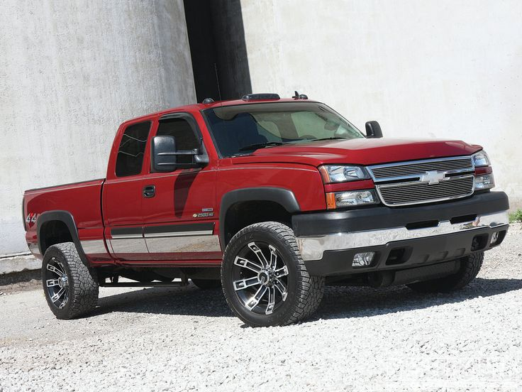 2007 red Chevy Duramax
