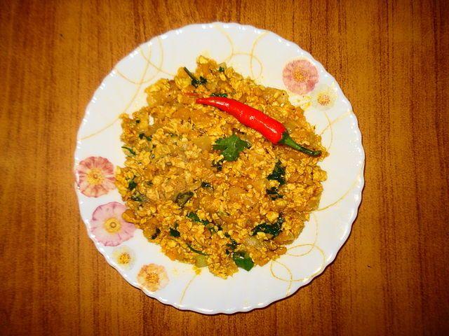 Cuisine of Karachi: Anda Ghotala at PC (Pathan Continental) انڈہ گوٹال...