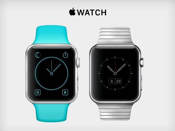 Apple Watch - Mockup & Custom UI