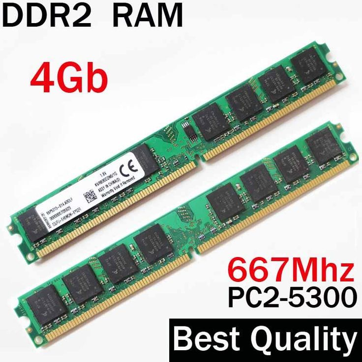[Visit to Buy] 1gb 2gb 4gb RAM DDR2 667 Ddr2 800Mhz ddr2 RAM 4gb / For AMD - for all memoria ram PC PC2 5300 / ddr 2 4 Gb memory RAM PC2-5300 #Advertisement