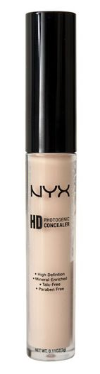 HD Photogenic Concealer (in Fair) Great concealer for highlighting really fair skin...plus it only cost around $5.00!