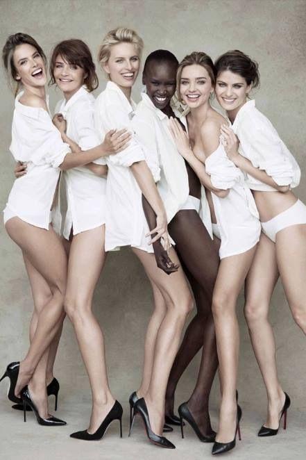 Pirelli Calendar 2014 Models