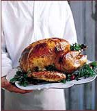 Roasted Turkey with Bacon-Cider Gravy - Holiday Turkeys from Food ...