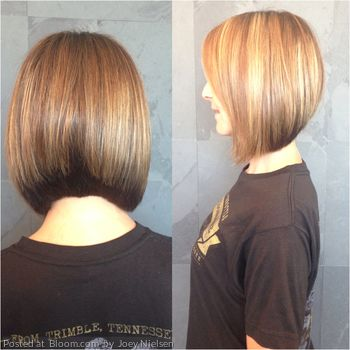 Gorgeous cut and color by Bloom Member Joey Nielsen.