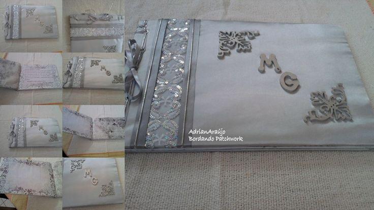 livro de mensagens de bodas de prata