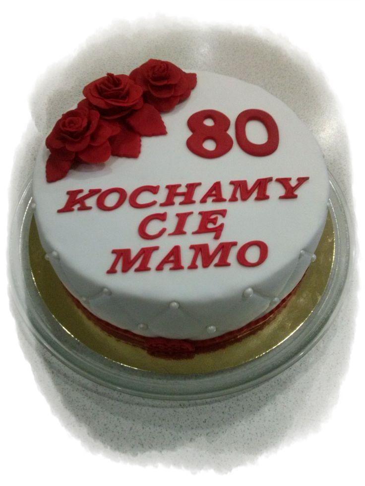 Dla mamy na 80 urodziny