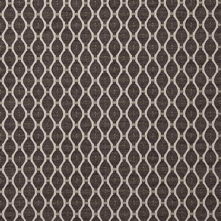 Warwick Fabrics : LAZARE, Colour GRAPHITE