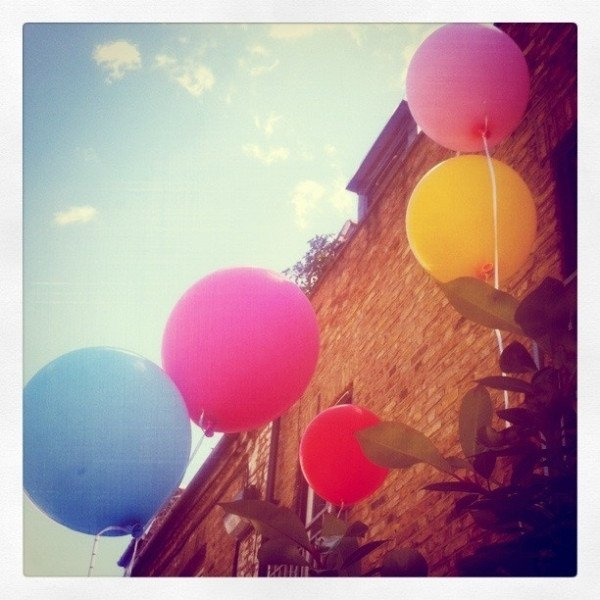 Ballons from Elizabeth Lau London
