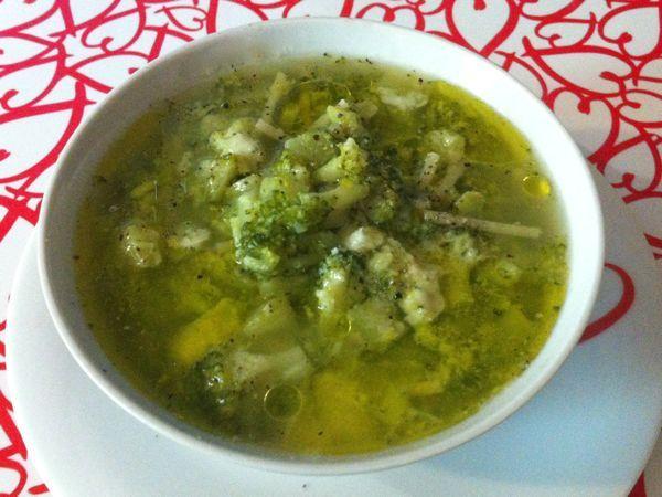 Minestra di broccoli - Ricette di cucina Il Cuore in Pentola