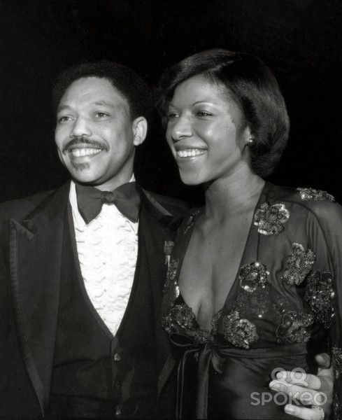 Natalie Cole and Marvin Yancy
