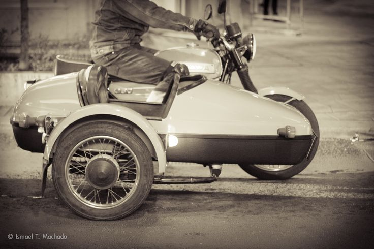 Budapest. Sidecar Motorcycle