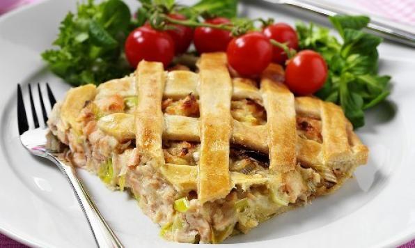 Appehtite - Salmon and Leek Pot Pie