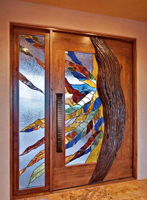 57 best images about glass on pinterest stained glass for Unique interior door ideas