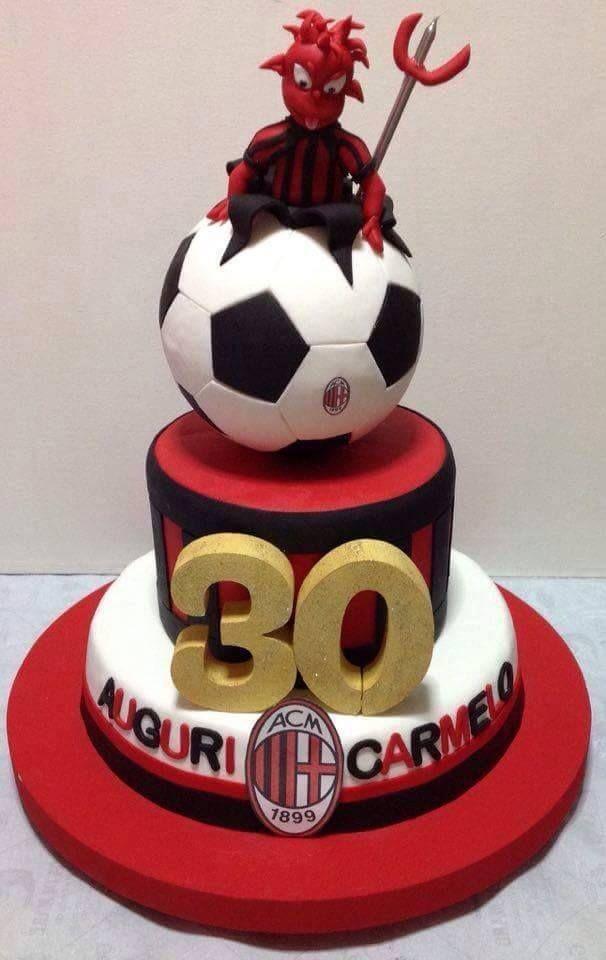 Milan - 30° Birthday Cake