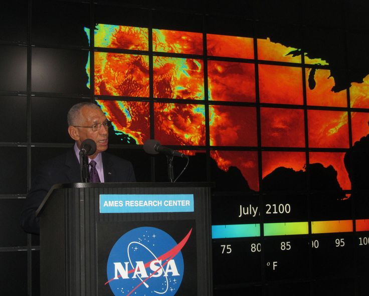 Humanity must act now if it hopes to stave off the worst impacts of climate change, NASA chief Charles Bolden says.