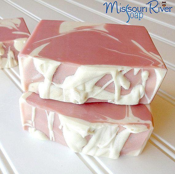 Coconut Rose Cold Process Handmade Soap