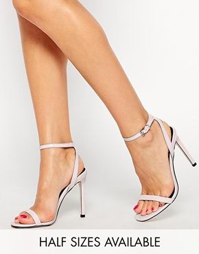 ASOS HEADS OR TAILS Heeled Sandals