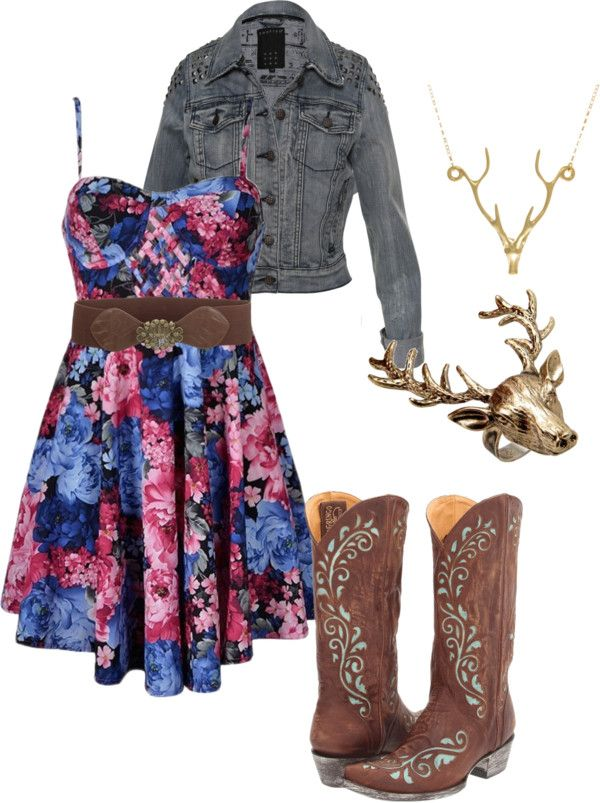 """Country girls day out"" by jamienorton on Polyvore"