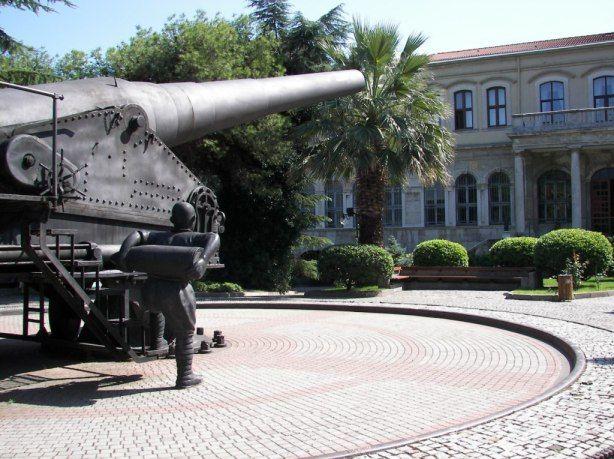 Museo militar de Harbiye #estambul #turquia