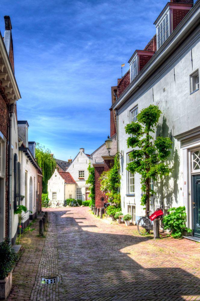 Walking in the history by Watze D. de Haan