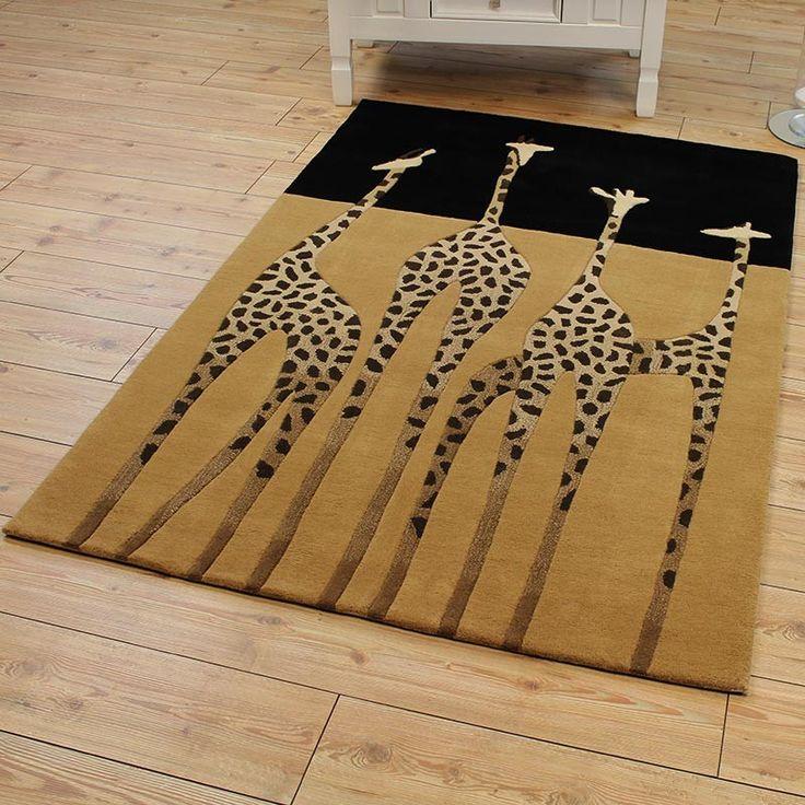 Giraffe Rugs Was £, Buy Now £215.6