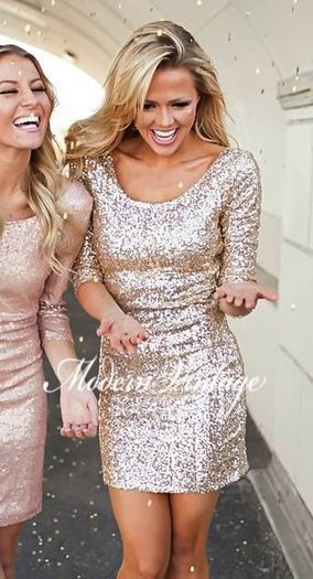 Sparkly Sequins Gold Dress for your Holiday Christmas Parties! Online boutique. Best outfits. Shop our huge selection of stylish women's clothing, shoes and accessories, including tops, dresses, cardigans, jewelry and layering apparel. Free shipping when you spend $100.
