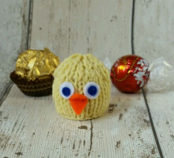 Easter Chick / Bird ~ Lindt Lindor / Ferrero Rocher chocolate cover handknitted | Home & Garden, Holiday & Seasonal Décor, Christmas & Winter | eBay!