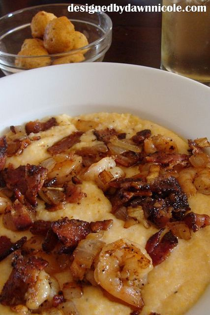 Justin's Awesome Shrimp and Grits by DesignedbyDawnNicole, via Flickr
