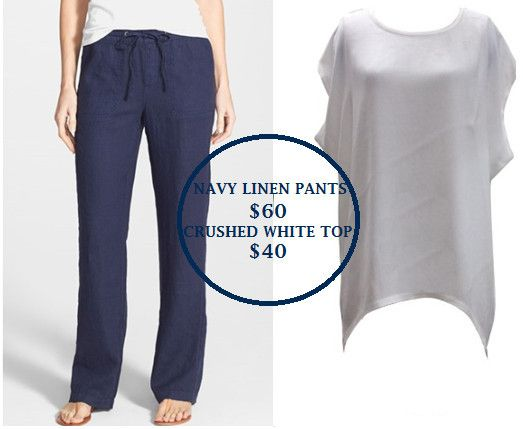 Linen Navy pants $60 Crushed Tee $40 - Stylehaus Boutique, Clothing Retailers, Mile End, SA, 5031 - TrueLocal