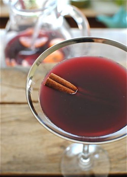 Mulled Red Wine Sangria | Recipe