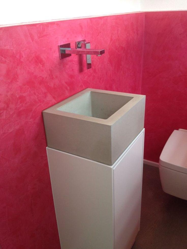 25 best ideas about betonwaschtisch auf pinterest. Black Bedroom Furniture Sets. Home Design Ideas